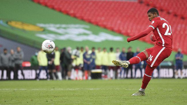 Pelatih Liverpool Jurgen Klopp mengatakan pantas disalahkan usai Rhian Brewster gagal mengeksekusi penalti lawan Arsenal di Community Shield.