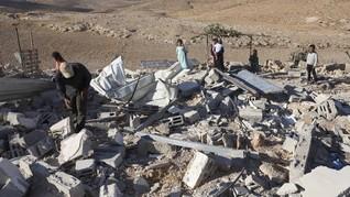 Penggusuran Rumah Palestina oleh Israel Naik Selama Pandemi