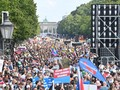 FOTO: Jerman Dilanda Demo Anti Corona