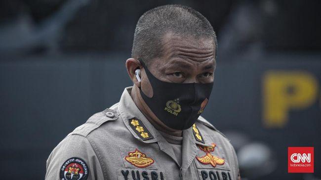 Polda Metro Jaya bakal mengambil tindakan represif terhadap massa jika terbukti memicu kerusuhan dalam demo Omnibus Law di Jakarta, hari ini.