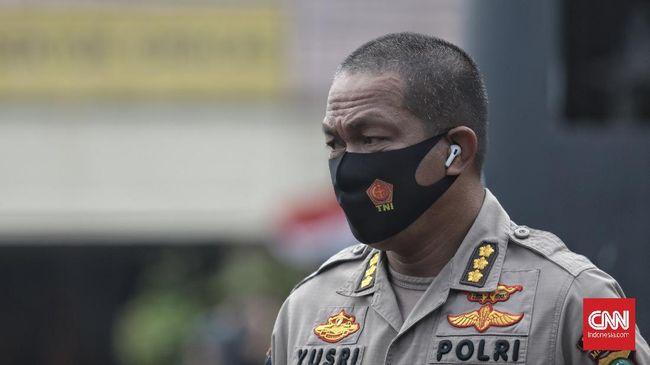 Tiga tersangka kasus kerumunan di Petamburan belum ditahan karena ancaman hukumannya hanya satu tahun penjara.