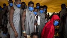 Ribuan Migran Maroko Nekat Berenang ke Enklave Spanyol