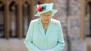 Polisi Temukan Paket Mencurigakan di Rumah Ratu Elizabeth