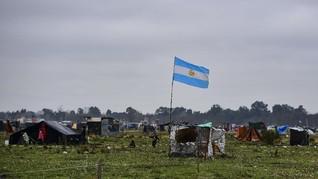 FOTO: Tunawisma Melonjak di Argentina Akibat Pandemi Corona