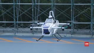 VIDEO: Uji Coba Mobil Terbang Sukses Diuji di Jepang