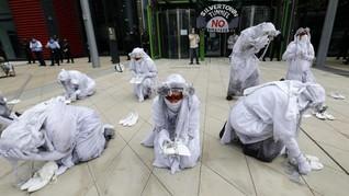 FOTO: Demo Menentang Perubahan Iklim di London