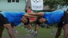 FOTO: Latihan Timnas Indonesia U-19 di Kroasia