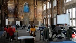 VIDEO: Persiapan Belgia Buka Sekolah Kembali