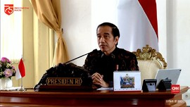VIDEO: Jokowi: Jika Masih Minus Indonesia Resesi