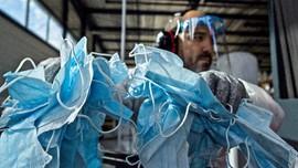 FOTO: Sampah Masker Bisa Diubah Jadi Plastik Daur Ulang