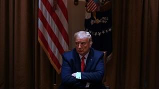 Trump Serang China soal Virus hingga Jokowi Dukung Palestina
