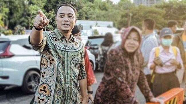 PDIP mengusung Eri Cahyadi di Pilwalkot Surabaya. Dia bisa melanjutkan kerja yang dirintis Tri Rismaharini jika berhasil menang Pilwalkot Surabaya.