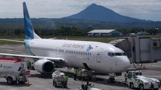 Garuda Buka Penerbangan Kargo dari Manado ke Jepang