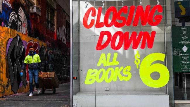 Aktivitas ekonomi Australia sepi setelah negara tersebut terjerembab ke dalam resesi ekonomi untuk pertama kalinya sejak 1991.