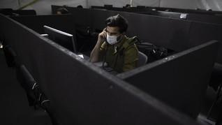 FOTO: Misi Tentara Israel Putus Rantai Penularan Corona