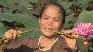 VIDEO: Menenun Kisah Sutra Batang Teratai dari Vietnam
