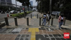 Jakarta Pusat Persiapkan Sembilan Titik Kios di Trotoar