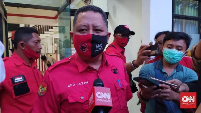 Wali Kota Surabaya akan dijabat oleh Whisnu Sakti Buana yang sebelumnya wakil wali kota Surabaya. Pergantian ini berlaku setelah Risma mengundurkan diri.