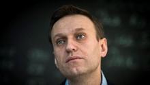 Pulang dari Jerman, Aktivis Rusia Navalny Langsung Ditahan