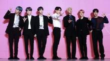Lagu-lagu BTS Paling Banyak Didengarkan di Indonesia