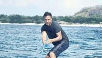 <p>Sejak dulu, Hamish Daud dikenal sebagai pria yang suka berpetualang dan olahraga. (Foto: Instagram @hamishdw)</p>