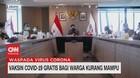 VIDEO: Vaksin Covid-19 Gratis Bagi Warga Kurang Mampu