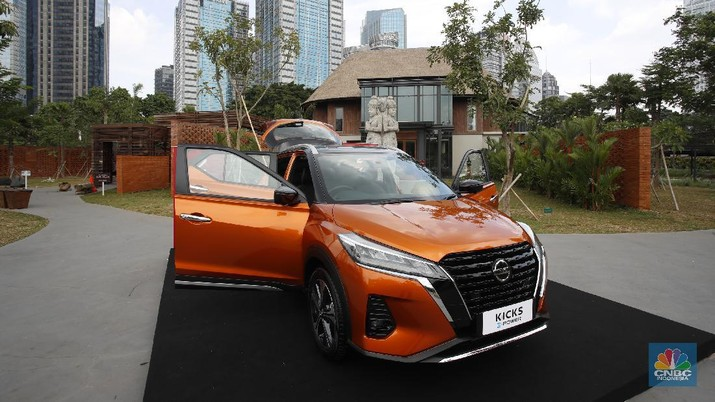 Nissan Kicks (CNBC Indonesia/ Tri Susilo)