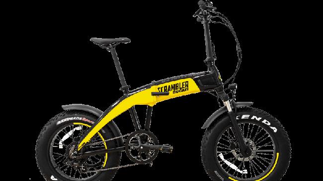 Ducati meluncurkan tiga sepeda lipat bertenaga listrik, dua di antaranya memakai ciri khas Scrambler Ducati.