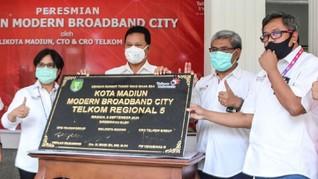 Telkom Akselerasi Madiun Jadi Modern City di Tengah Pandemi