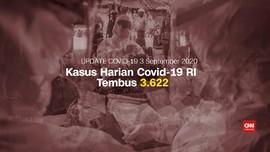 VIDEO: Kasus Positif Covid-19 Tembus Rekor Jadi 184.268