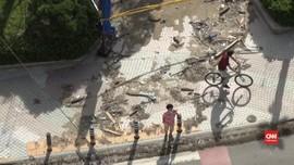 VIDEO: Topan Maysak Hantam Busan, Korea Selatan