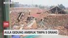 VIDEO: Aula Gedung BNN Sukabumi Ambruk, Timpa 5 Orang