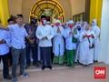 Diarak Massa Pendukung, Fauzi-Eva Mendaftar Pilkada Sumenep