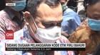 VIDEO: Ketua KPK Firli Bahuri Bungkam Usai Jalani Sidang