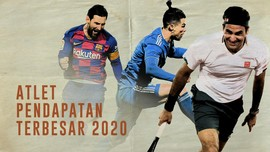 INFOGRAFIS: 10 Atlet dengan Pendapatan Terbesar 2020
