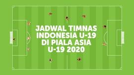 INFOGRAFIS: Jadwal Timnas Indonesia U-19 di Piala Asia