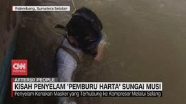 VIDEO: Kisah Penyelam 'Pemburu Harta' Sungai Musi