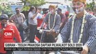 VIDEO: Gibran - Teguh Prakosa Daftar Pilwalkot Solo 2020