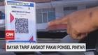 VIDEO: Bayar Tarif Angkot Pakai Ponsel Pintar