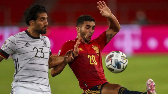Laga timnas Spanyol vs Swedia pada Euro 2020 (Euro) jadi kesempatan bagi Ferran Torres untuk bersinar.