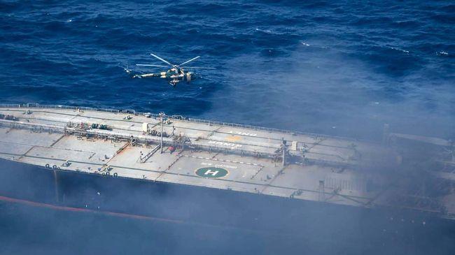 Pemilik kapal tanker yang terbakar di Sri Lanka sepakat untuk membayar US$1,8 juta atau sekitar Rp26 miliar sebagai ganti rugi.