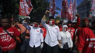 Survei: 48 Persen Warga Surabaya Belum Punya Pilihan Cawalkot