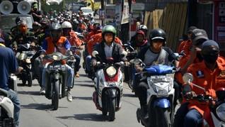 Nomor Urut Paslon Diundi Besok, KPU Larang Arak-arakan Massa
