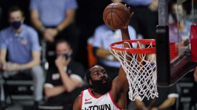 Bintang NBA James Harden hengkang dari Houston Rockets untuk bergabung dengan Brooklyn Nets yang diperkuat Kevin Durant dan Kyrie Irving.