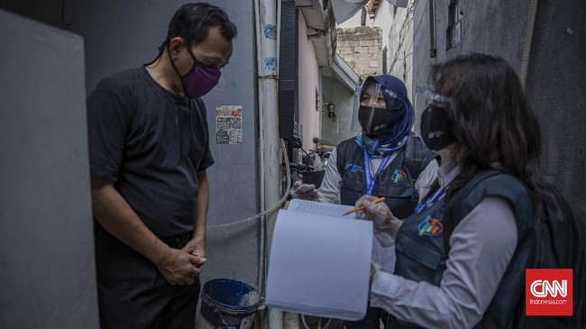 Badan Pusat Statistik (BPS) menggelar agenda lapangan sensus penduduk di tengah pandemi virus corona dengan menerapkan protokol kesehatan.