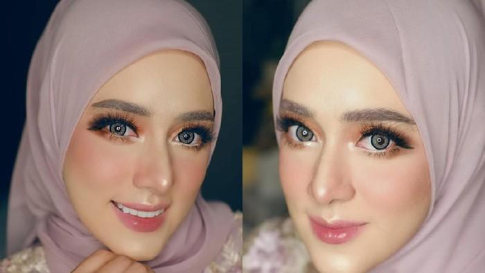 Mirip Barbie! Makeup Flawless Fairuz A Rafiq yang Bikin Pangling