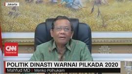 VIDEO: Mahfud MD Soal Politik Dinasti Pilkada 2020
