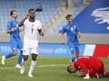 Hasil Nations League: Penalti Sterling Menangkan Inggris