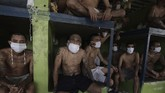 Anggota geng berjubel di dalam penjara El Salvador di tengah pandemi Covid-19. Mereka juga diduga dilobi untuk kepentingan politik