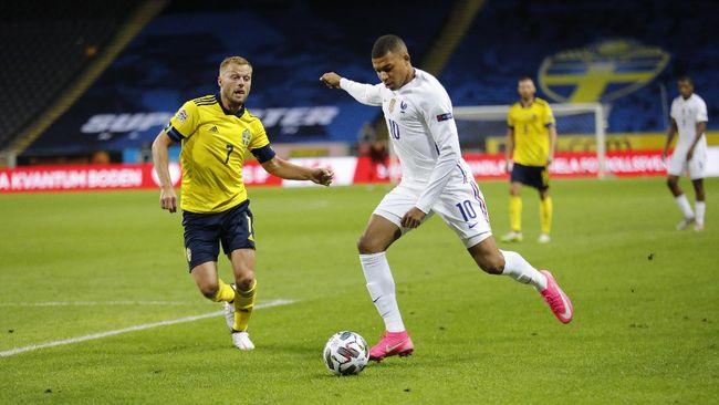 Mbappe Cetak Gol Ajaib di Laga Swedia vs Prancis